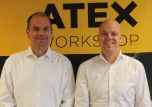 Martijn de Graaff en Rob van den Berg Atexworkshop
